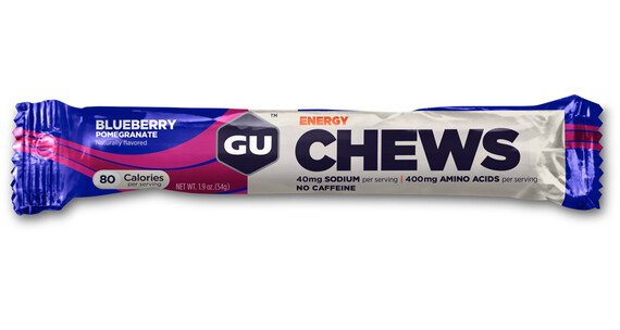 GU Energy Energy Chews Blueberry Pomegranate 54g